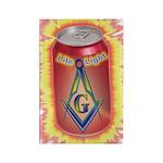 Masonic Lite Light Rectangle Magnet (100 pack)