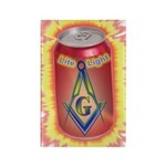 Masonic Light In a Can Rectangle Magnet (10 pack)