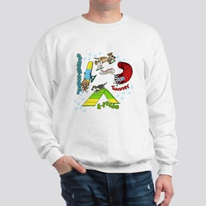 Four Agility Obstacles Sweatshirt