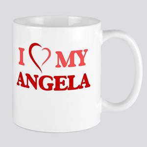I love my Angela Mugs