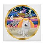 XmasStar/Am Eskimo #1 Tile Coaster
