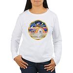 XmasStar/Am Eskimo #1 Women's Long Sleeve T-Shirt