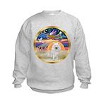 XmasStar/Am Eskimo #1 Kids Sweatshirt