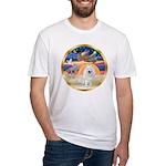 XmasStar/Am Eskimo #1 Fitted T-Shirt