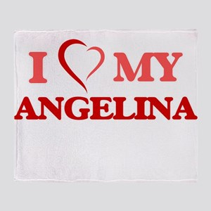 I love my Angelina Throw Blanket