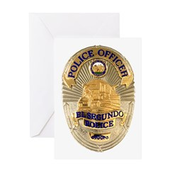 El Segundo Police Greeting Card