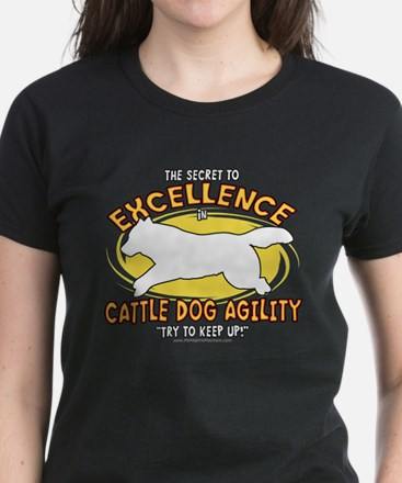 Secret Cattle Dog Agility Women's Dark T-Shirt