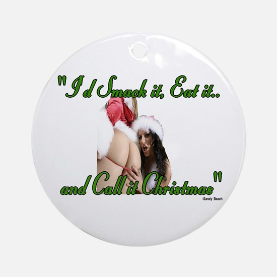 smack it Ornament (Round)