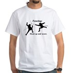 Hook Up and Score White T-Shirt