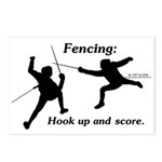 Hook Up and Score Postcards (Package of 8)