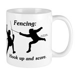 Hook Up and Score Mug