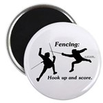 Hook Up and Score Magnet