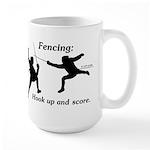 Hook Up and Score Large Mug