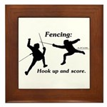 Hook Up and Score Framed Tile