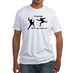 Hook Up and Score Fitted T-Shirt