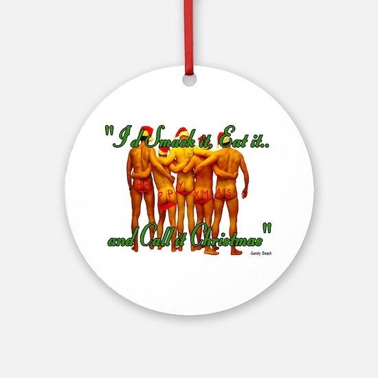 eat it Ornament (Round)
