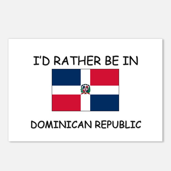 I'd rather be in Dominican Republic Postcards (Pac