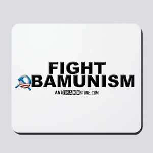 FIGHT OBAMUNISM Mousepad