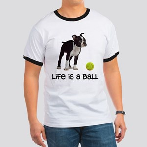 Boston Terrier Life Ringer T