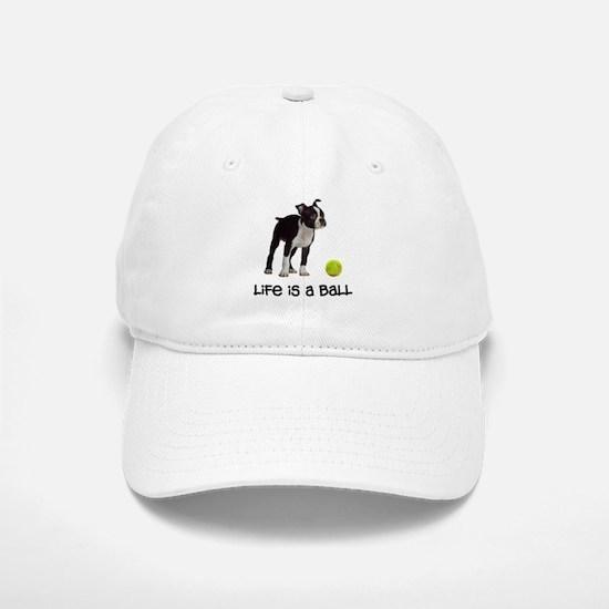 Boston Terrier Life Baseball Baseball Cap