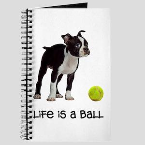 Boston Terrier Life Journal