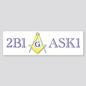 2B1ASK1 Bumper Sticker