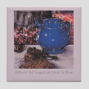 Crick Hollow Teapot on Tile Coaster