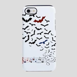 Bat Music Design iPhone 8/7 Tough Case