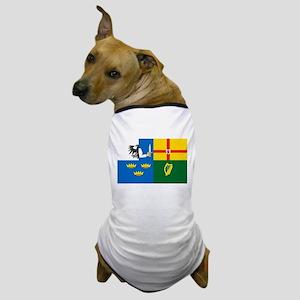 """The Four Provinces Flag"" Dog T-Shirt"