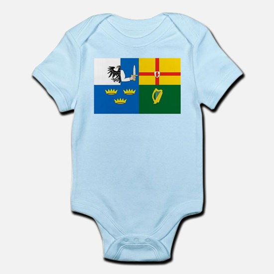 """The Four Provinces Flag"" Infant Creeper"