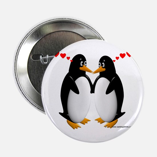 """Penguin Lovers 2.25"""" Button (10 pack)"""