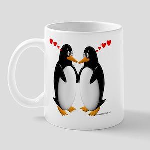 Penguin Lovers Mug