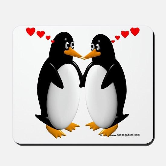 Penguin Lovers Mousepad