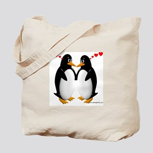 Penguin Lovers Tote Bag