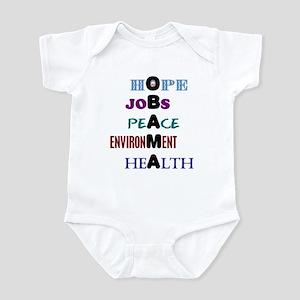 Obama Values Infant Bodysuit