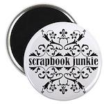 Scrapbook Junkie Magnet