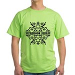 Scrapbook Junkie Green T-Shirt
