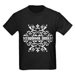 Scrapbook Junkie Kids Dark T-Shirt