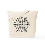 Scrapbook Junkie Tote Bag