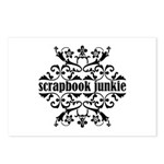 Scrapbook Junkie Postcards (Package of 8)