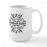 Scrapbook Junkie Large Mug