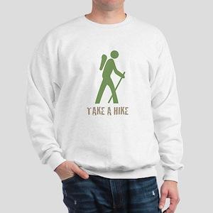 Take a Hike Green Sweatshirt