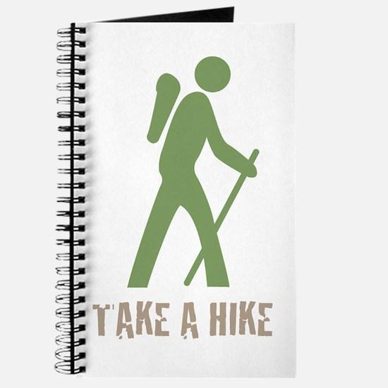 Take a Hike Green Journal