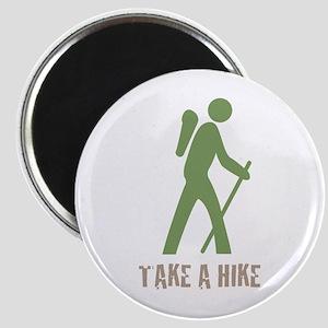 Take a Hike Green Magnet