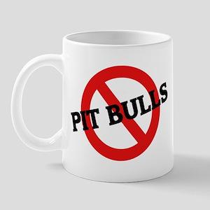 Anti Pit Bulls Mug