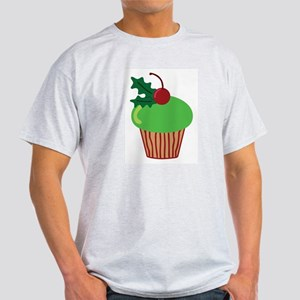 Christmas Cupcake Light T-Shirt