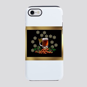 Beer and Peanut Christmas 2 iPhone 8/7 Tough Case