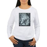 Example Image on Women's Long Sleeve T-Shirt