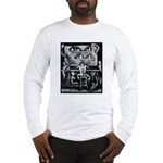 Example Image on Long Sleeve T-Shirt