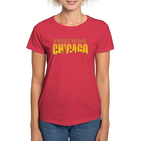 Sweet Home Chicago Women's Dark T-Shirt